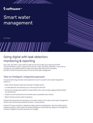 Smart Water Management Factsheet