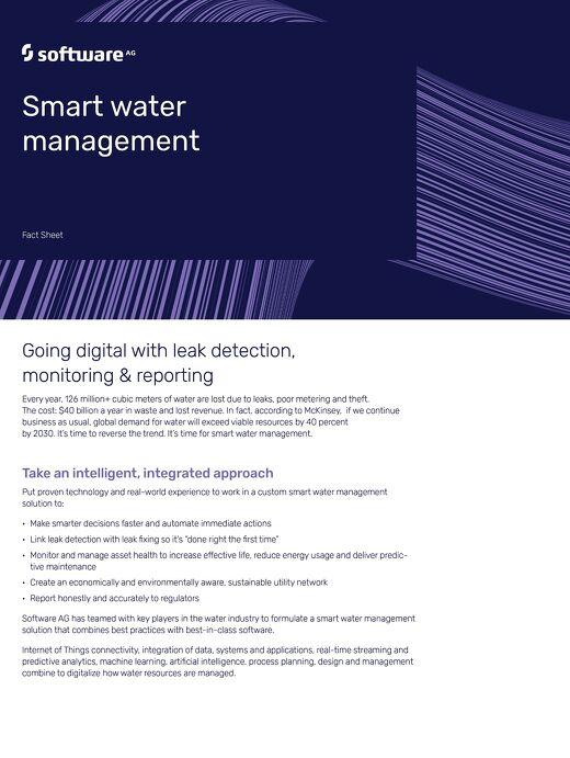 Smart Water Management Factsheet