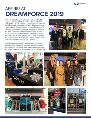 Appirio at Dreamforce 2019