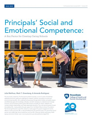 Principals' Social and Emotional Competence