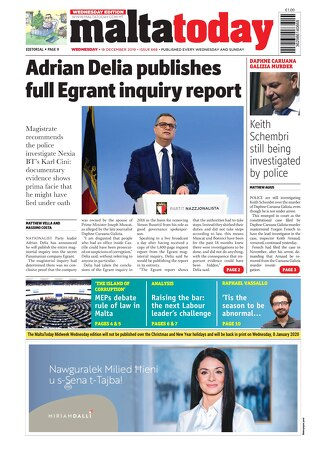 MALTATODAY 18 December 2019