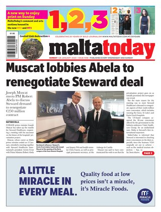 MALTATODAY 26 January 2020