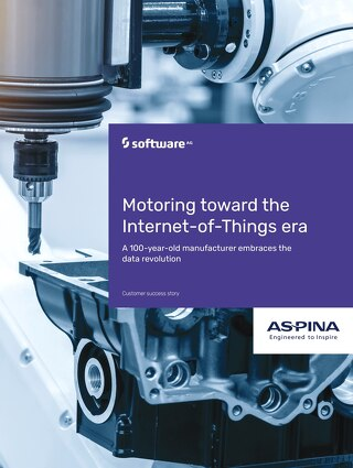 ASPINA motors toward the Internet-of-Things era