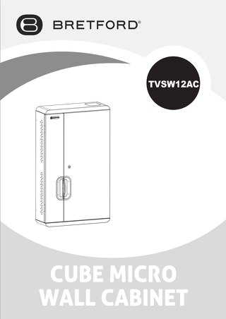 TVSW12AC CUBE Micro Wall Cabinet