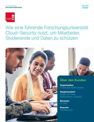 Wie eine führende Forschungsuniversität Cloud-Security nutzt, um Mitarbeiter, Studierende und Daten zu schützen