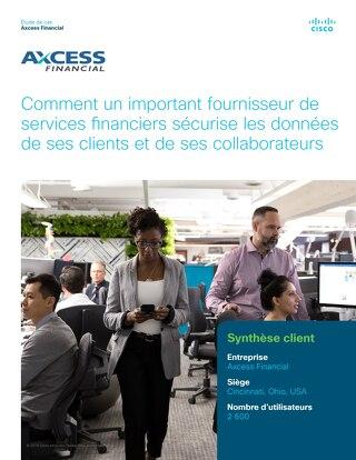 Comment un important fournisseur de services financiers sécurise les données de ses clients et de ses collaborateurs