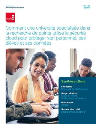 Comment une université spécialisée dans la recherche de pointe utilise la sécurité cloud pour protéger son personnel, ses élèves et ses donn