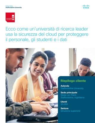 Ecco come un'università di ricerca leader usa la sicurezza del cloud per proteggere il personale, gli studenti e i dati