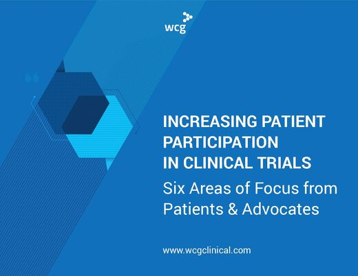 [PDF] Increasing Patient Participation in Clinical Trials: Six Areas of Focus from Patients and Advocates