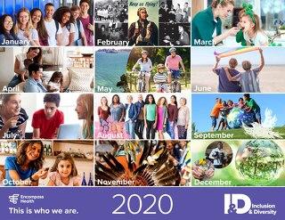 2020 Diversity Calendar