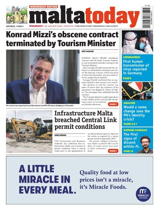 MALTATODAY 29 January 2020 Midweek