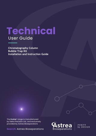 Bubble Trap kit fitting guide