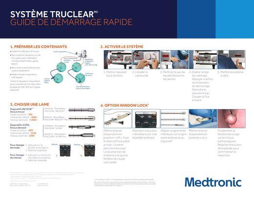 Système TruClear - Guide de démarrage rapide