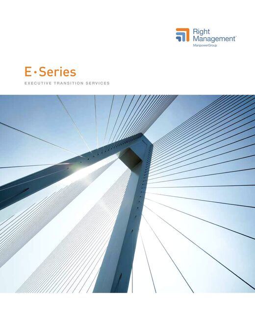 ESeries: Executive Transition Services