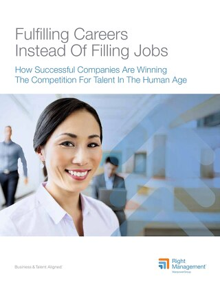 Fulfilling Careers Instead of Filling Jobs