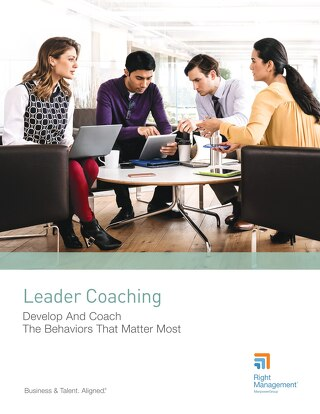 Leader Coaching: Develop And Coach The Behaviors That Matter Most