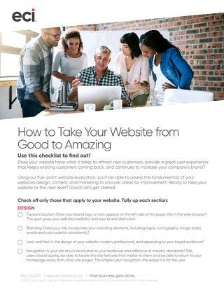Website Evaluation Checklist