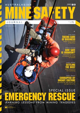 Australasian Mine Safety Journal Issue 16 Autumn 2013