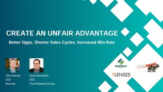Webinar Slides: Create an Unfair Advantage