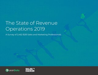The State of Revenue Operations 2019
