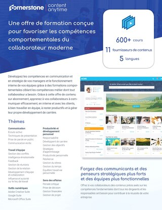 Fiche produit Content Anytime Professional Skills