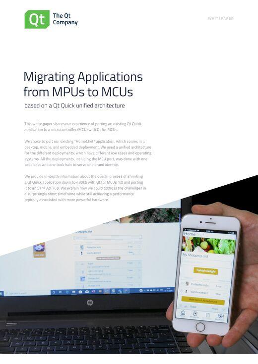 Porting Qt Quick applications to Qt for MCUs