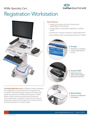 Capsa Healthcare M38e Registration Workstation