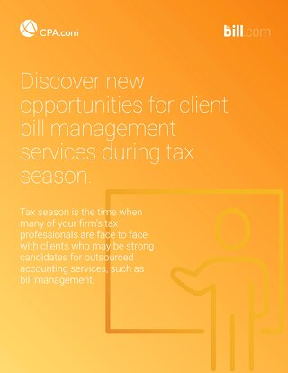 Discover New Opportunities for Client Bill Management Services During Tax Season