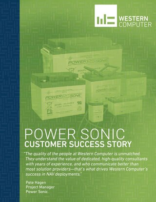 Customer Success Story: Power Sonic