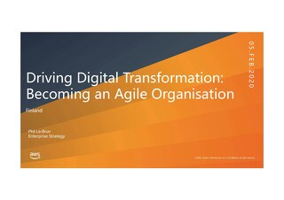 AWS Business Transformation Roundtable 05FEB2020