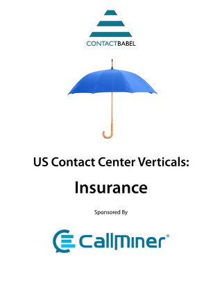 ContactBabel US Contact Center Vertical Market Report: Insurance