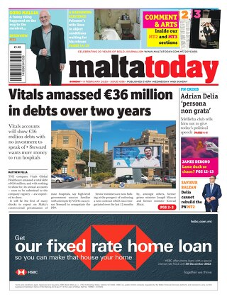 MALTATODAY 9 February 2020