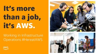 Working in an AWS Data Center