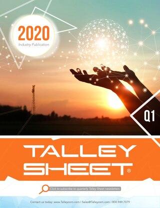 Q1 Talley Sheet 2020