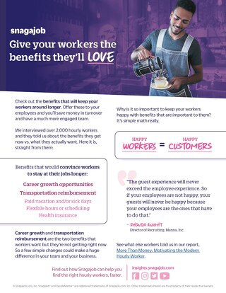 Give Your Workers The Benefits They'll Love
