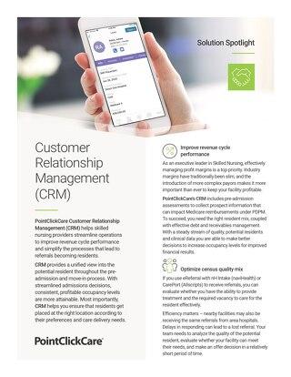 Solution Spotlight: Customer Relationship Management (CRM)