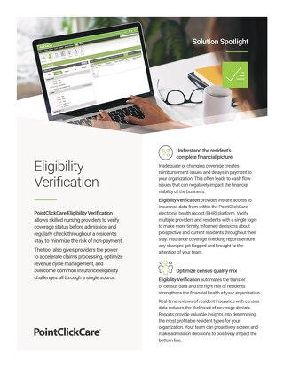 Solution Spotlight: Eligibility Verification