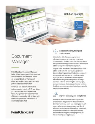 Solution Spotlight: Document Manager