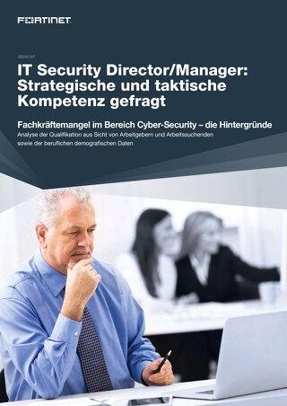 IT Security Director/Manager: Strategische und taktische Kompetenz gefragt