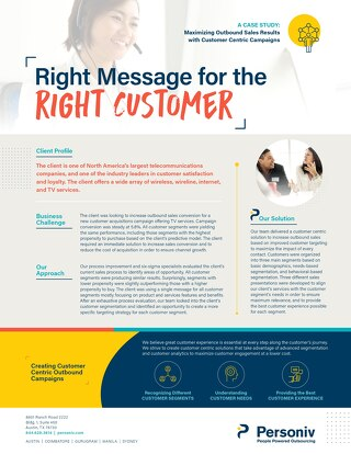 Customer Experience Case Study