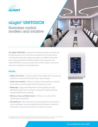 nLight® UNITOUCH + myPersonify App