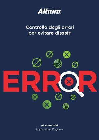 Controllo degli errori per evitare disastri