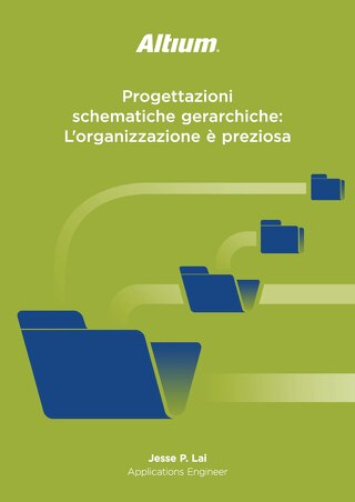 Progettazioni schematiche gerarchiche: L'organizzazione è preziosa