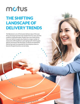 The Shifting Landscape of Delivery Trends Report