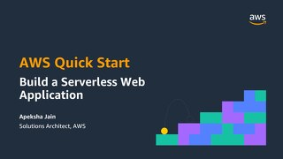 AWS Quick Start - Build a Serverless Web Application