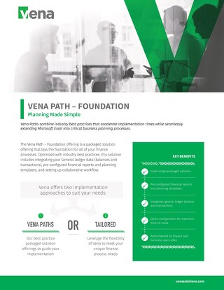 Vena Paths - Foundation Datasheet
