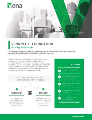 Vena Paths - Foundation Datasheet