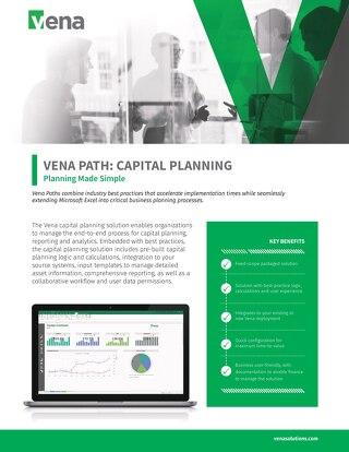 Vena Paths - CapEx Datasheet