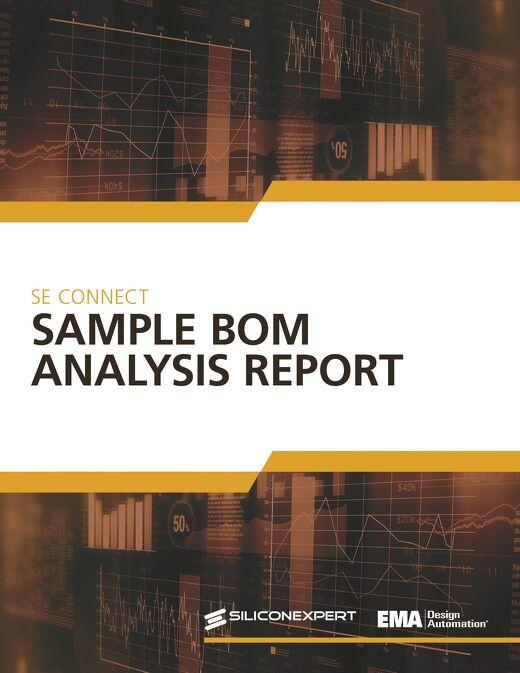 SE Connect Sample BOM Report