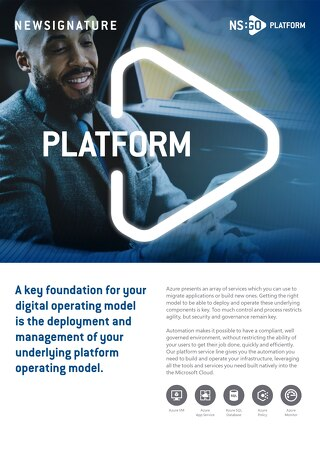 NS:GO - Platform - Flyer